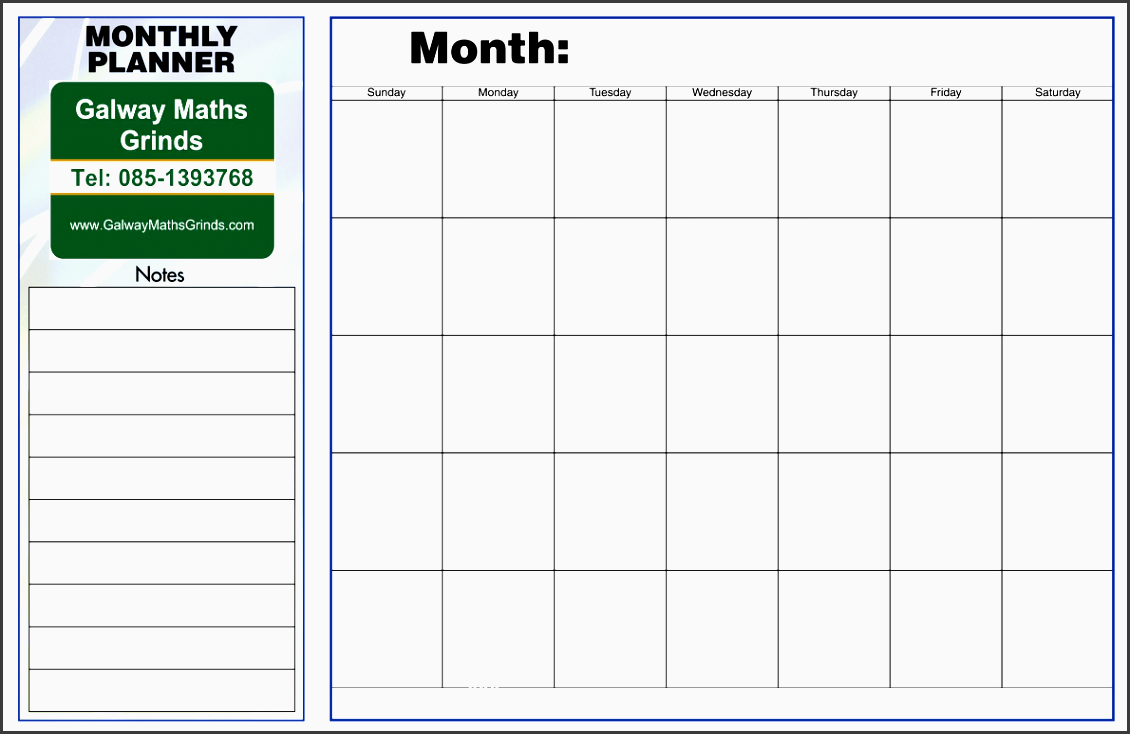 Weekly Revision Calendar : Weekly time planner layout sampletemplatess