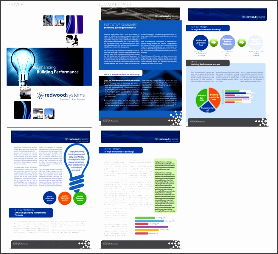 brochure design by san011 for white paper template design project design