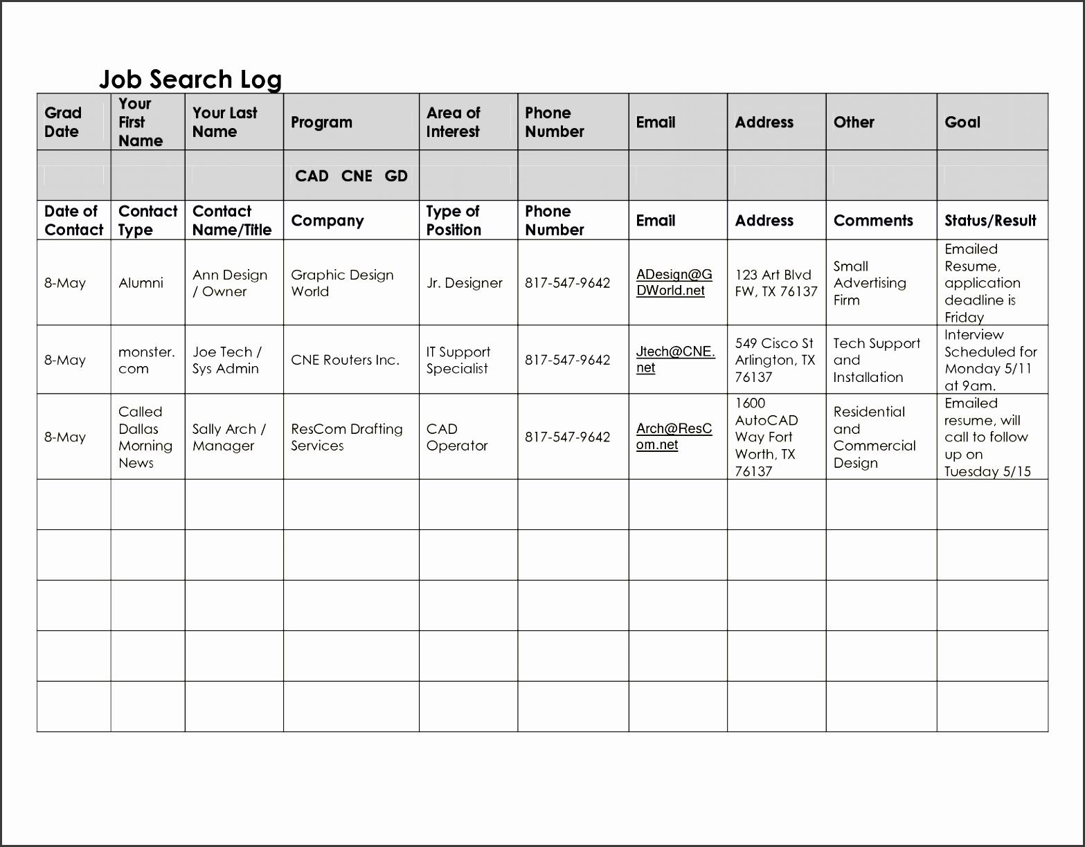 5 work log templates sampletemplatess sampletemplatess