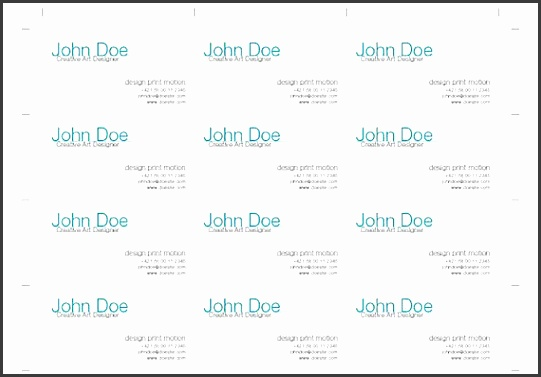 How to Impose Business Cards for Digital Printing with InDesign