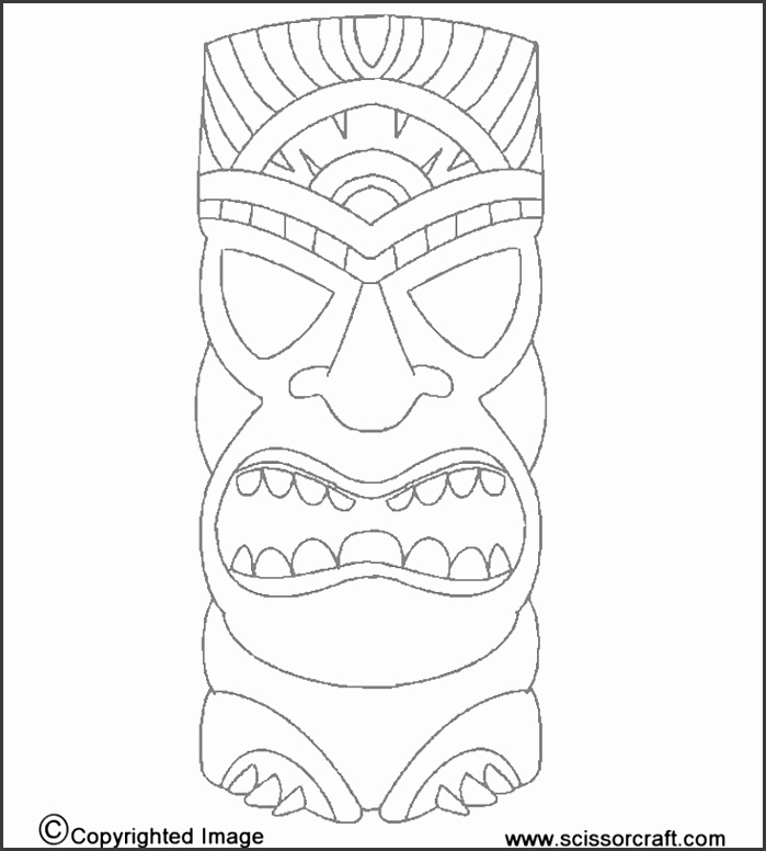 5 african mask template printable sampletemplatess sampletemplatess