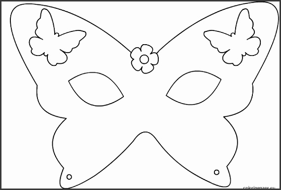 Inventive image in free printable masks templates