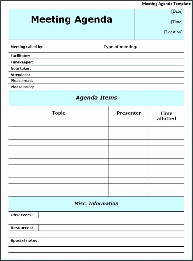 Best 25 Meeting agenda template ideas on Pinterest