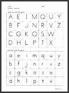 Alphabet Assessment