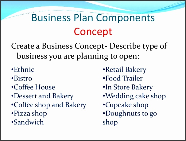 Bakery Business Plan Template Ppt