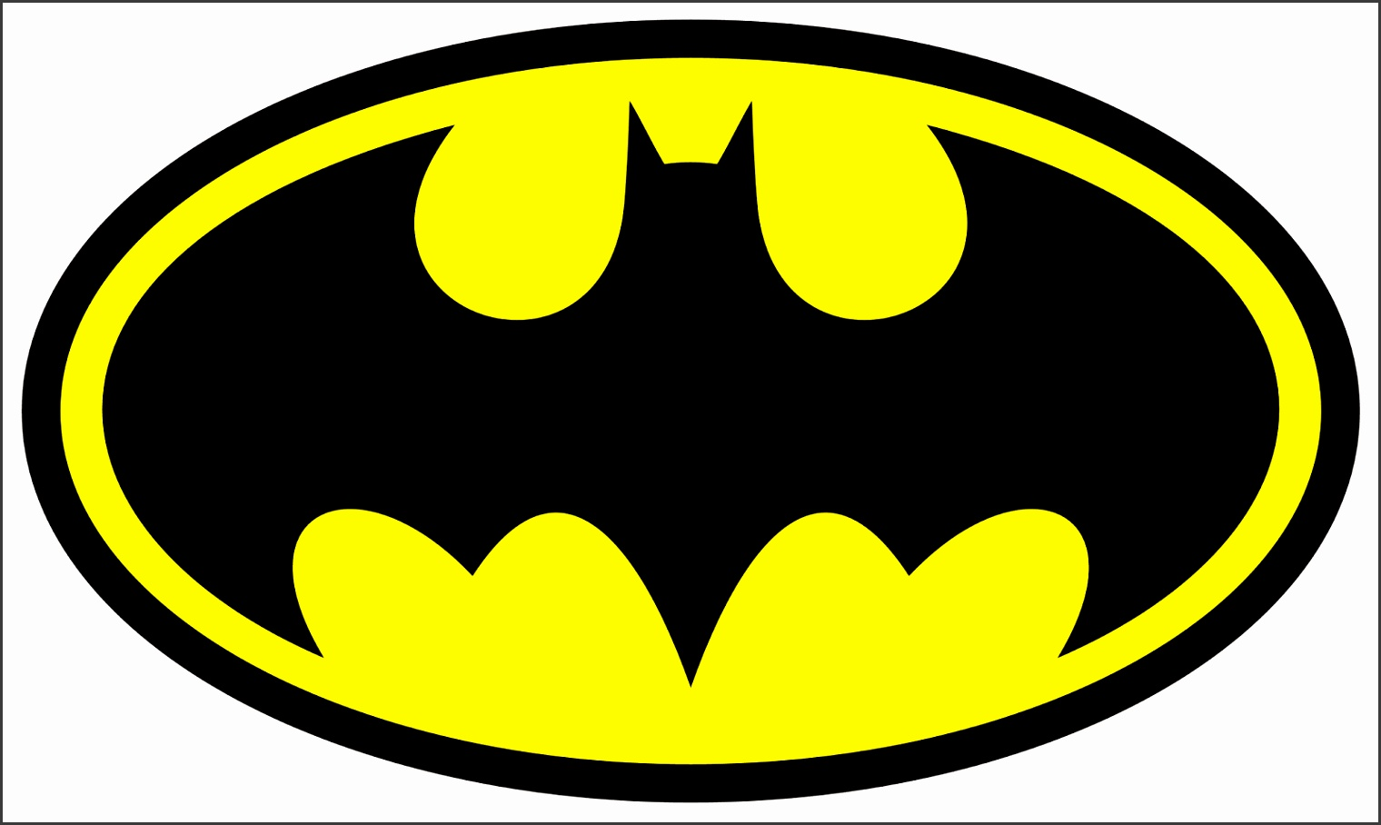 Batman Mask Template Printable logo clipart best printable