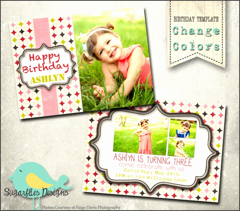 shop Elements Birthday Card Templates