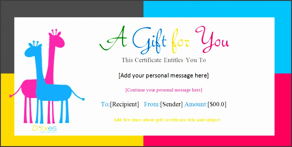 birthday t certificate templates doc