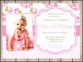 8  Birthday Invitation Card Template Vector