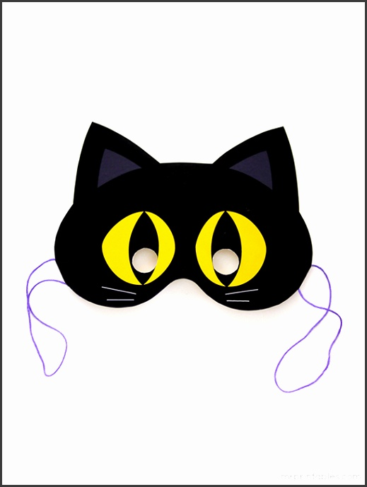 Nice cat mask template printable pattern wordpress for Marvel black cat mask template