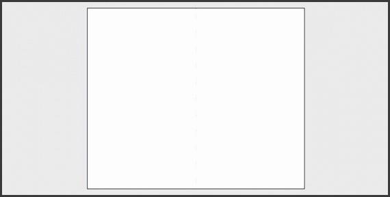 Blank Leaflet Bifold Template