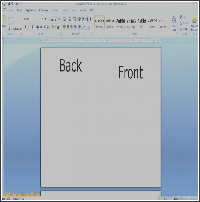 8 Blank Greeting Card Template Microsoft Word Sampletemplatess