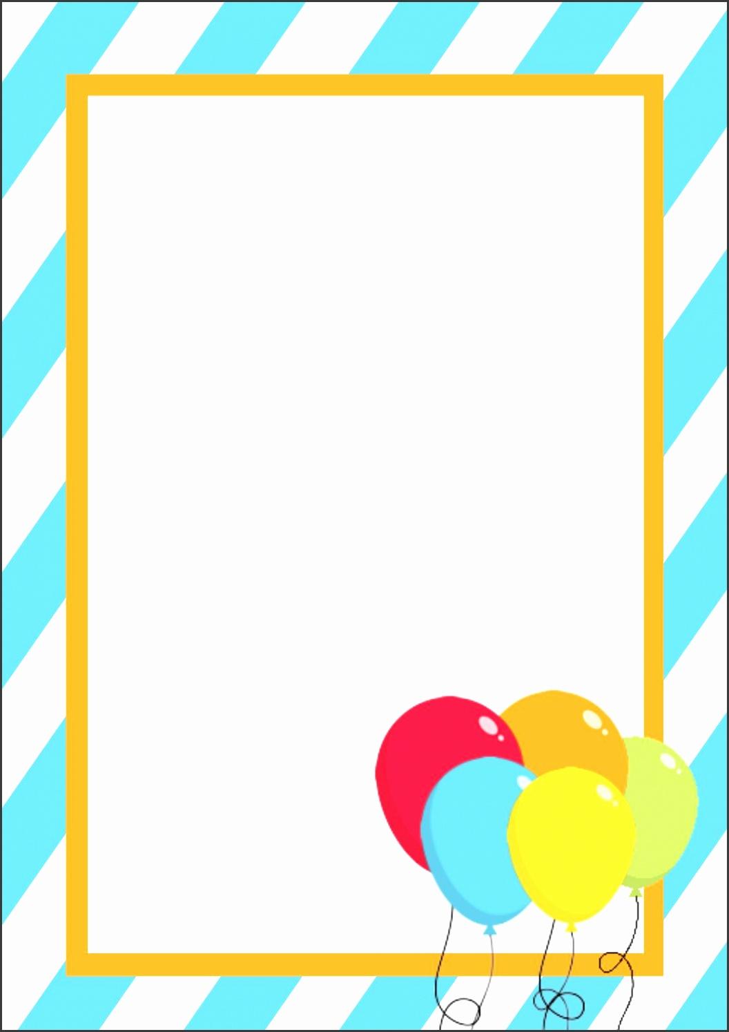 blank greeting card template word