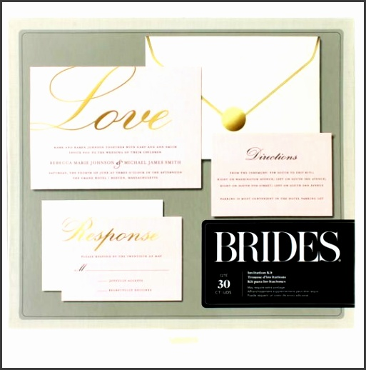 Brides Wedding Invitation Kits With ely Wedding Invitation Templates As A Result An Application Using A Felicitous Concept 15