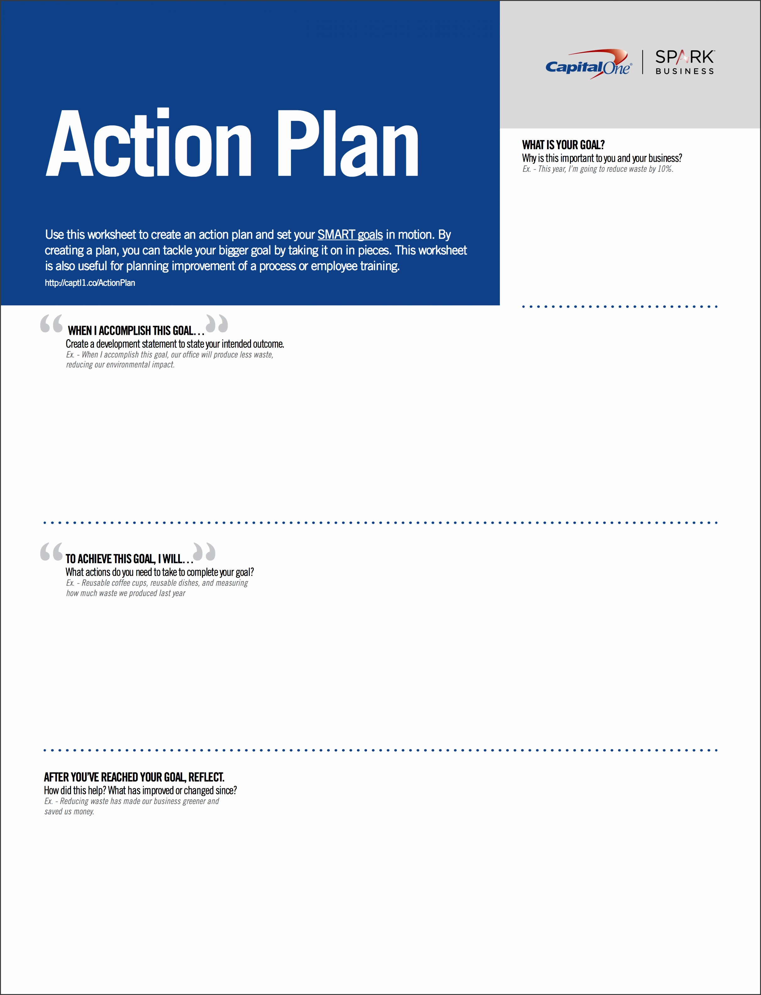 Download the worksheet below and started on your action plan