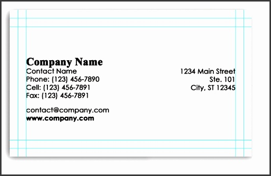 8 business card size template illustrator sampletemplatess illustrator business card template fbccfo Choice Image