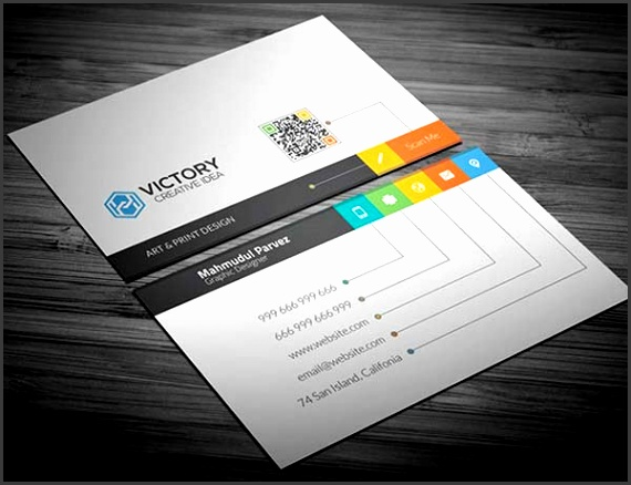 10 Business Card Template Illustrator Free Download