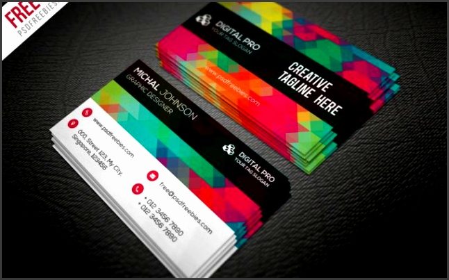 50 free PSD business card template designs