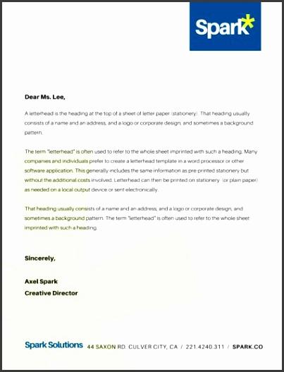 Corporate pany Business Letterhead