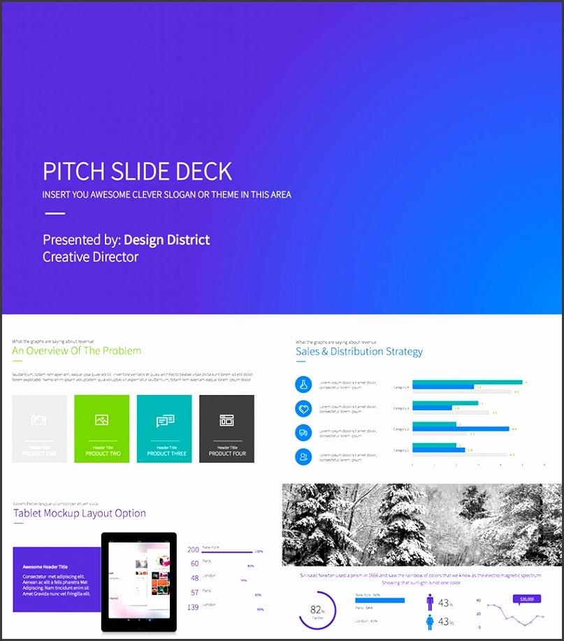 Pitch Deck Business Plan PowerPoint Template