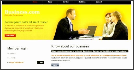 Preview Download Source Business Template