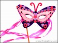 8  butterfly Mask Template Printable