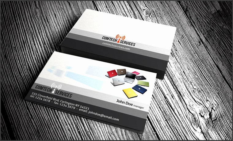 CT puter business card templates