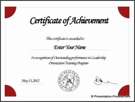 Pie Autoshapes Certificate