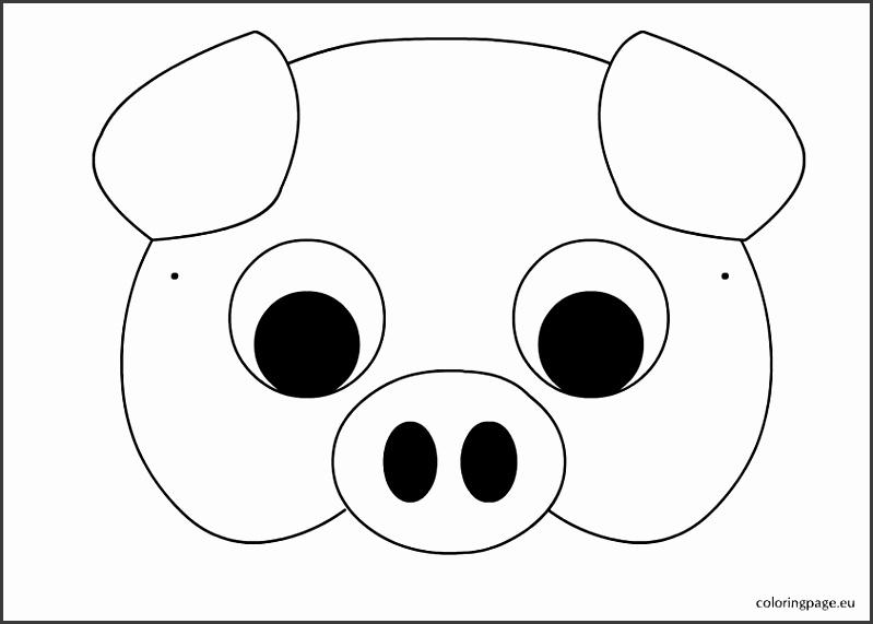 printable pig mask share peppa pig printable face mask printable pig mask