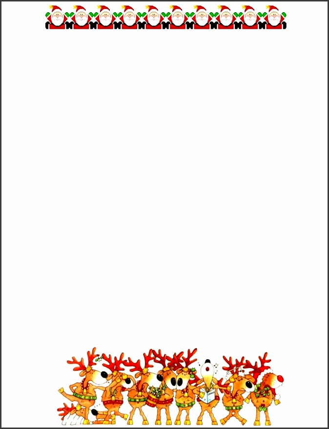 15 Christmas Paper Templates – Free Word Pdf Jpeg Format throughout Free Christmas Stationery Templates Word