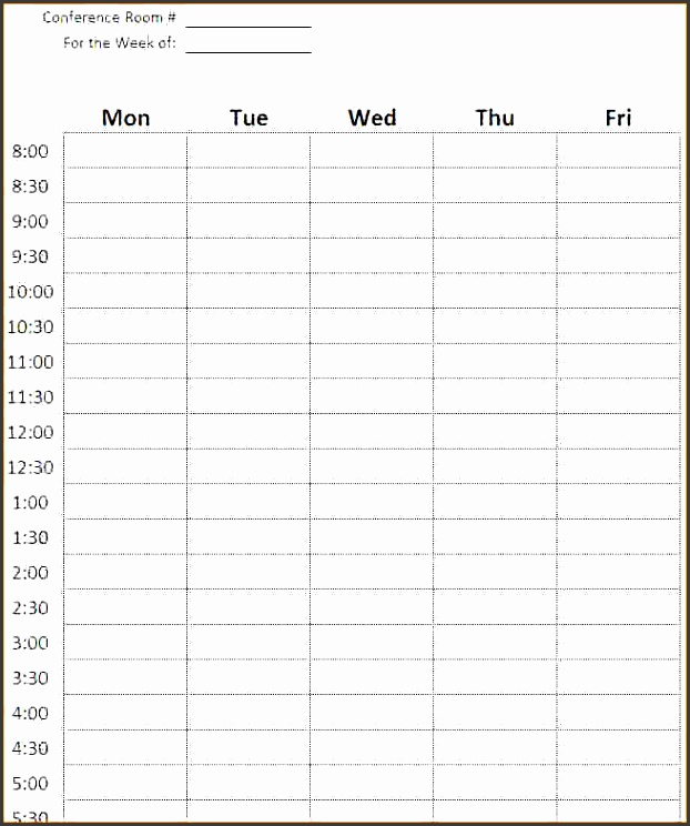 fancy conference room schedule template inspiration resume ideas