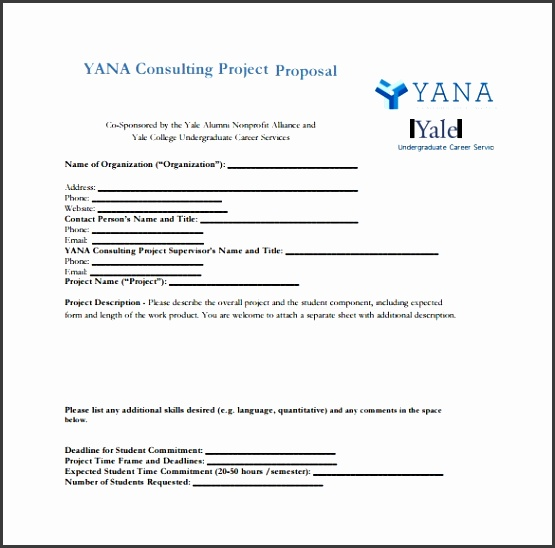 Consultancy Project Proposal Template Consulting Proposal Templates 13 Free Sample Example Format