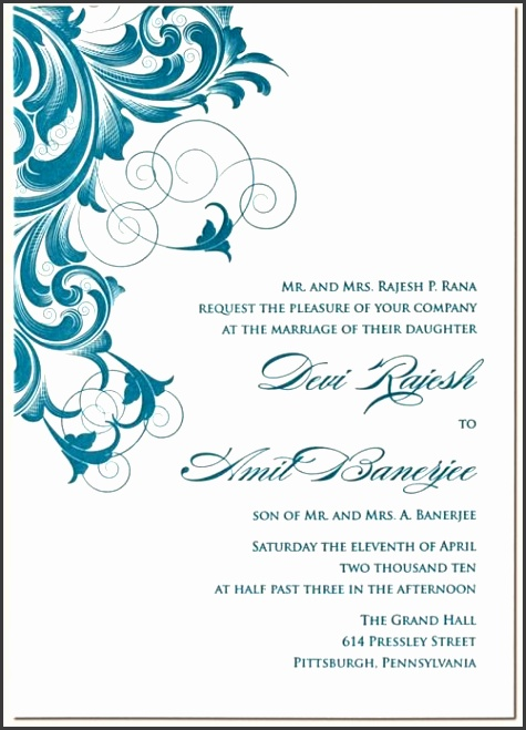 6 contoh undangan formal invitation sampletemplatess rana 1 letterpress indian wedding card invitation design style design for wedding invitation cards 4 new stopboris Gallery