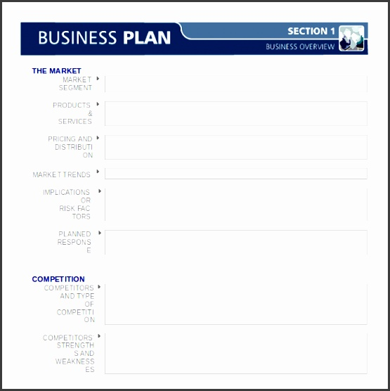 7 Create Business Plan Template