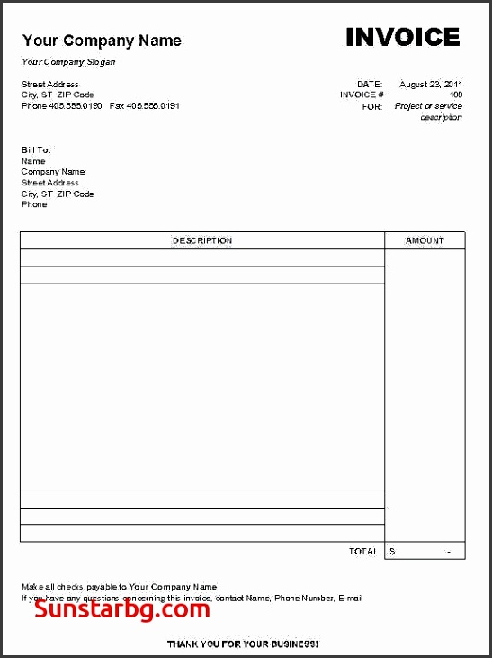 Invoice Template for Create Free Invoice Template Best Create Invoice In Word Free Invoice