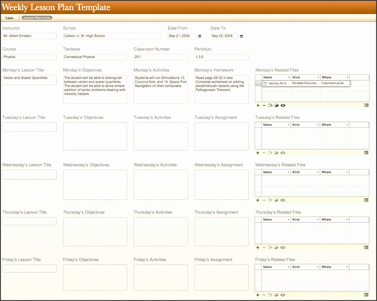 All Templates Daily Lesson Plan Template Tr0yen7z