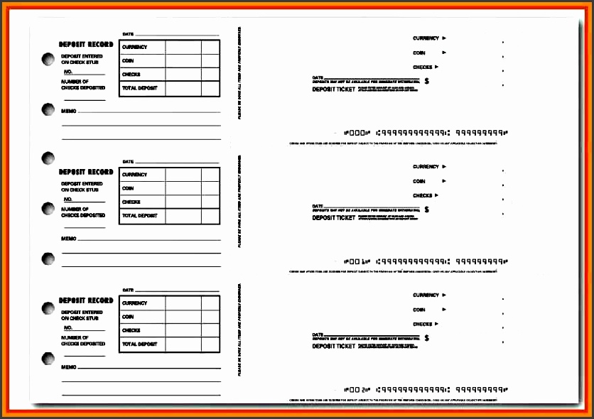 9 deposit slip template - sampletemplatess