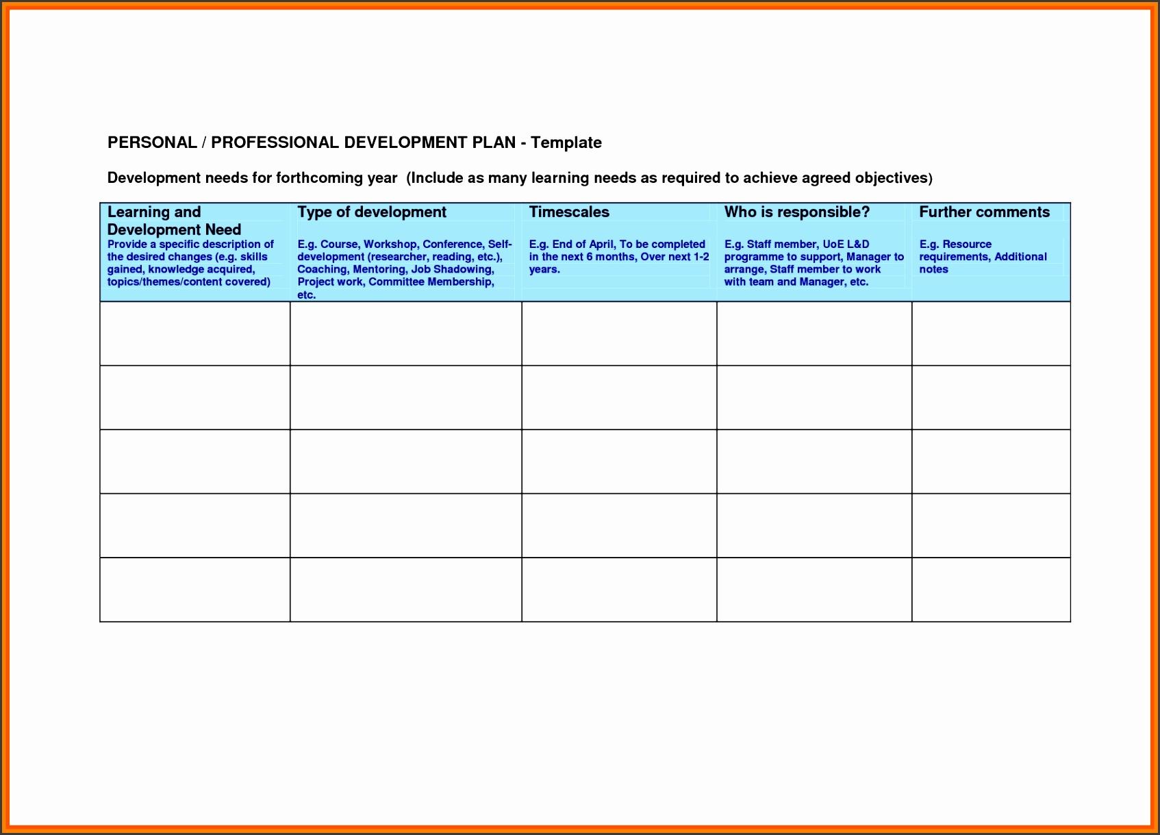 professional development plan templatevelopment plan template professional development plan template re3euveo