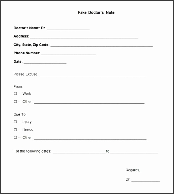 Free Download Doctors Notes Template