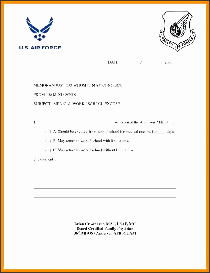 return to work letter doctor note to return to work template free