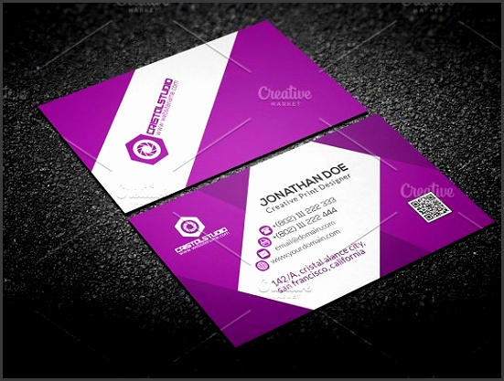 Editable Business Card Business Cards