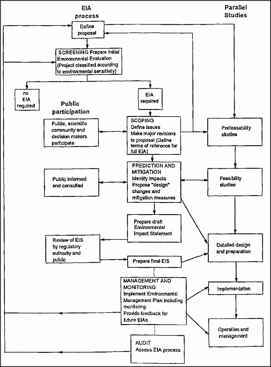 9 environmental impact assessment checklist template