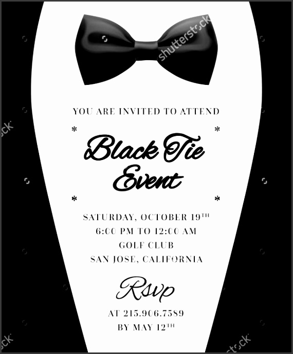 Formal Event E mail Invitation Template