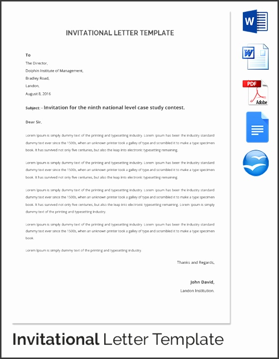 HR Invitation Letter
