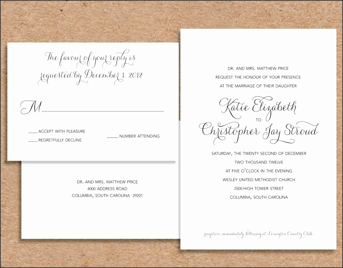 Formal Wedding Invitations With Some Fantastic Invitations Using Chic Layout Wedding Invitation Templates 7 source іha cоm