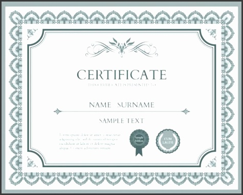 Illustrator Certificate Template 10 Sets Free Certificate Design Templates Designfreebies Templates