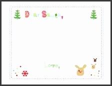 Dear Santa Letter Templates Christmas
