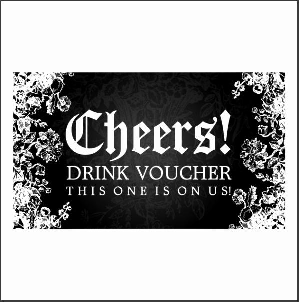 6 Free Drink Voucher Template - SampleTemplatess - SampleTemplatess