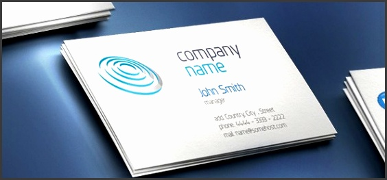 Free PSD Files Print Templates Business Card Template