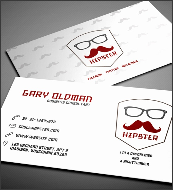 26 Modern Free Business Cards PSD Templates 3